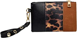 Ultramall Women's Animal Print Clutch Bag Portable Purse Fashion Casual Stitching Pouch For Women