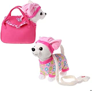 YOUPIN Electronic Pet Robot Dog Zipper Walking Singing Interactive Toy With Bag For Children Kids Birthday Gifts (Color : E)