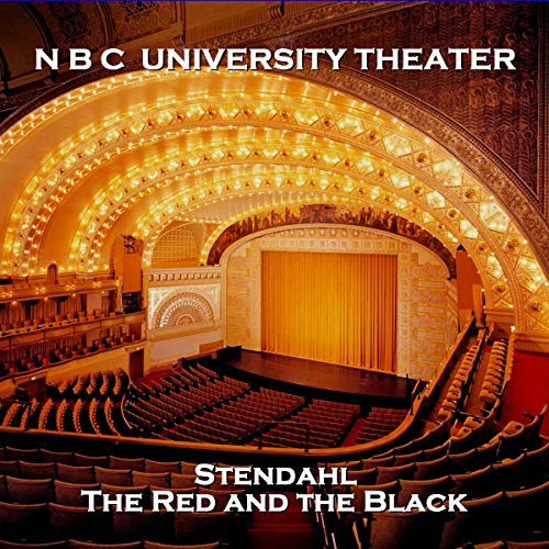 NBC University Theater: The Red and the Black audiobook cover art