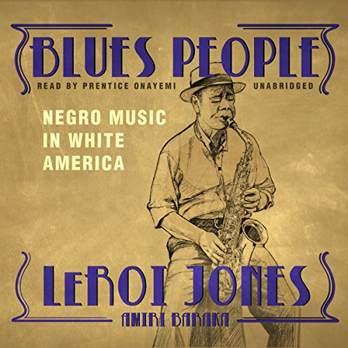 Blues People audiobook cover art