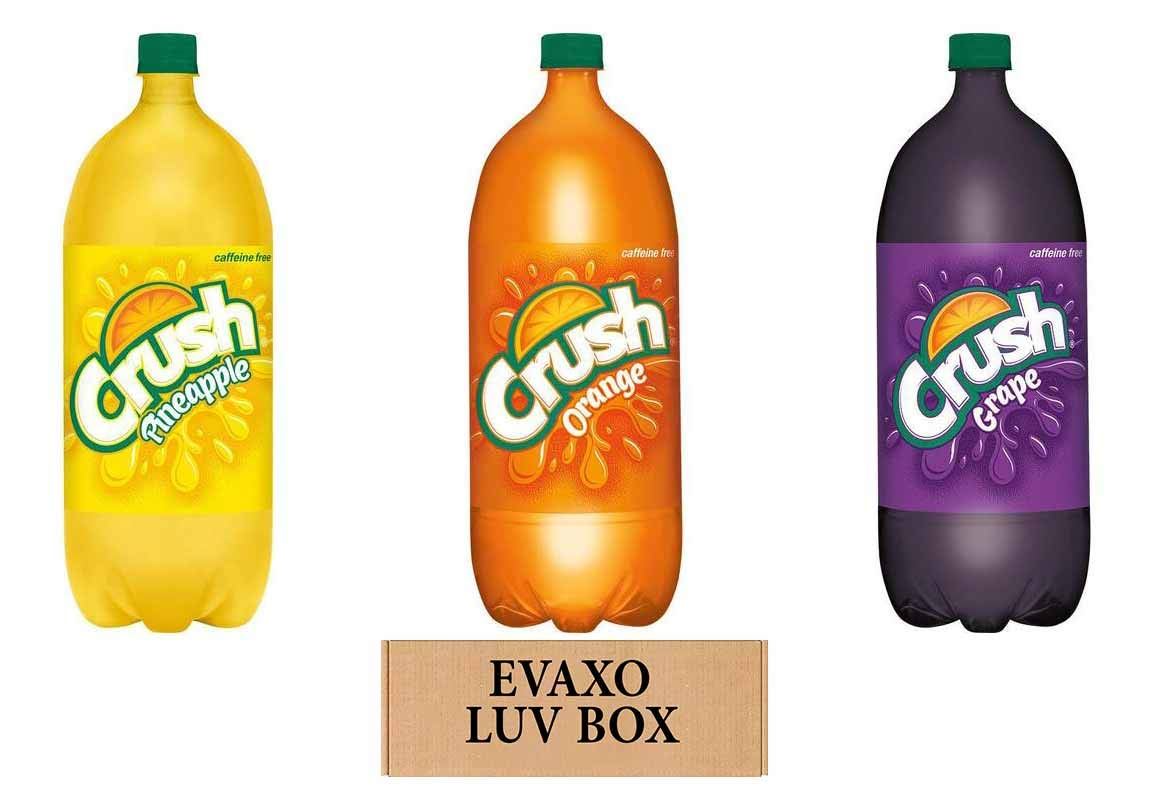 LUV Direct stock discount BOX - Variety Crush Soft Drink 3 Litre Bottles Pack Pin 2 In a popularity of