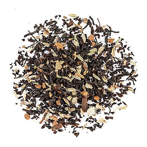 Masala Chai Schwarzer Tee Bio - Perfekt Für Indien Latte - 200g