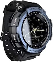 CNAJOI-TDFY Sports Smart Watch, Outdoor Health Management Fitness Bracelet, Bluetooth 4.0 IP67 Waterproof Activity Tracker Climbing Wrist Watch with Remote Camera
