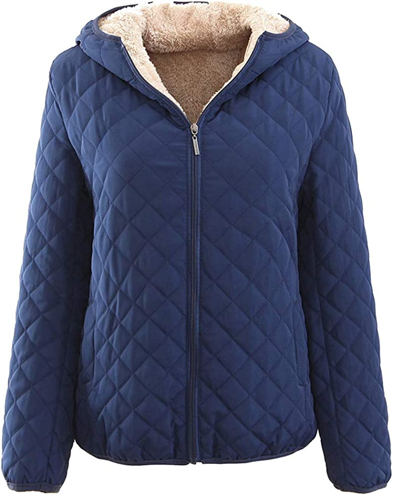 Atditama Sherpa Lined Hooded Genuine Free Shipping Ranking TOP5 Jacket Solid Color for Coat Women