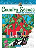 country scenes color by number Top Coloring Books of 2019
