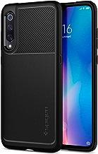 Spigen Coque Xiaomi Mi 9 [Rugged Armor] Souple, Fibre de Carbone, Noir Matte, Antichoc, Anti-Rayure, Coque Etui Housse pour Le Xiaomi Mi 9 - Noir