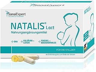 SanaExpert Natalis Lact, 90 cápsulas, preparación combinada para la lactancia después del embarazo con vitaminas DHA Ácido...