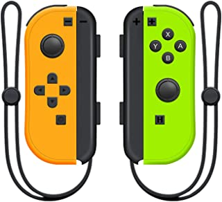 Wireless Controller for Nintendo Switch Left and Right Switch Controller,Switch Controllers Gamepad with Adjustable Turbo ...