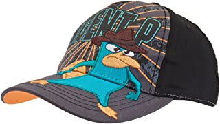 Phineas and Ferb - Mens Phineas and Ferb - Agent P Adjustable Baseball Cap Grey