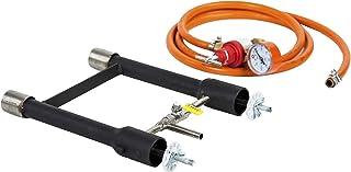 comprar comparacion Quemador de gas dual | Herreros Forge | Fundición de horno | Cuchillo de granjero de propano | 103