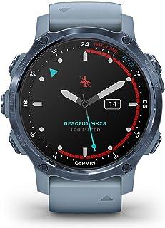Garmin Descent MK2S horlogebandje, mineraalblauw, 010-02403-07, siliconen, 43 mm