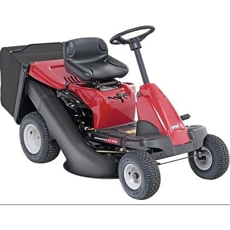MTD Tractor Cortacésped Minirider 60 RDE de Asiento, 3700 W, Negro, Rojo