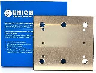 1/4 Sheet Sander PSA 6 Holes Pad Backing Plate for Makita OE# 158324-9 SPD17 BO4556 Finish Replacement PSA Backing Makita BO4556 Fishing Sander 14000OPM