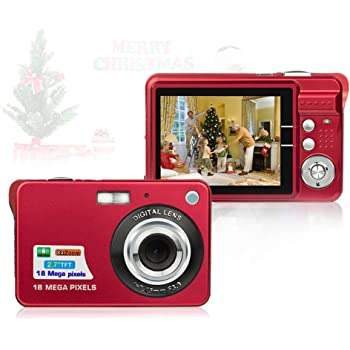HD Mini Digital Cameras for Kids Teens Beginners,Point and Shoot Digital Video Cameras-Birthday&Christmas Gift
