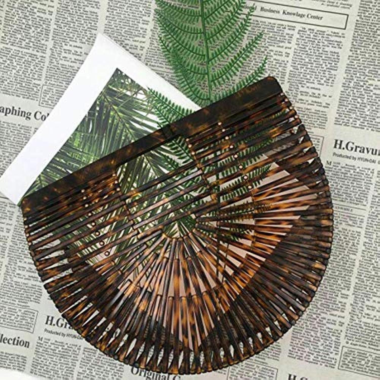 2018 Bamboo Women Straw Bags Rattan Woven Beach Shoulder Bags Ladies Crossbody Tote Handbag Female Bohemian Handmade Bag