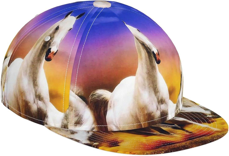 KINESONSS Fantasy Wild Horses Running Baseball Latest Many popular brands item A Fashion Cap Hat
