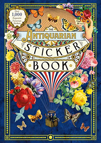 The Antiquarian Sticker Book: Victorian Stickers Hardcover for 9.99