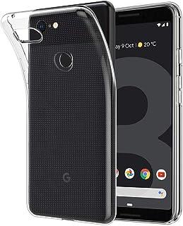 Google Pixel 3 ケース クリア ピクセル 3 ケース TPU カバー 透明 ワイヤレス充電対応 耐衝撃 指紋防止 吸収 擦り傷防止 軽量 Google Pixel3 用 カバー (Pixel 3、クリア)