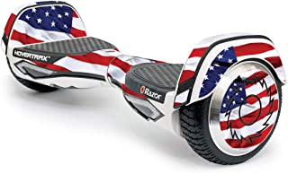 MightySkins Skin Compatible with Razor Hovertrax 2.0 Hover Board Self-Balancing Smart Scooter wrap Cover Sticker Skins American Flag