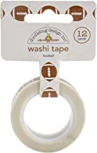 Doodlebug TCH4796 Washi Tape 15mmX12yd-Touchdown Footballs, Touchdown