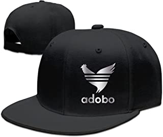 PAIOWCR Chicken Adobo Filipino Platinum Style Baseball Snapback Hat Black