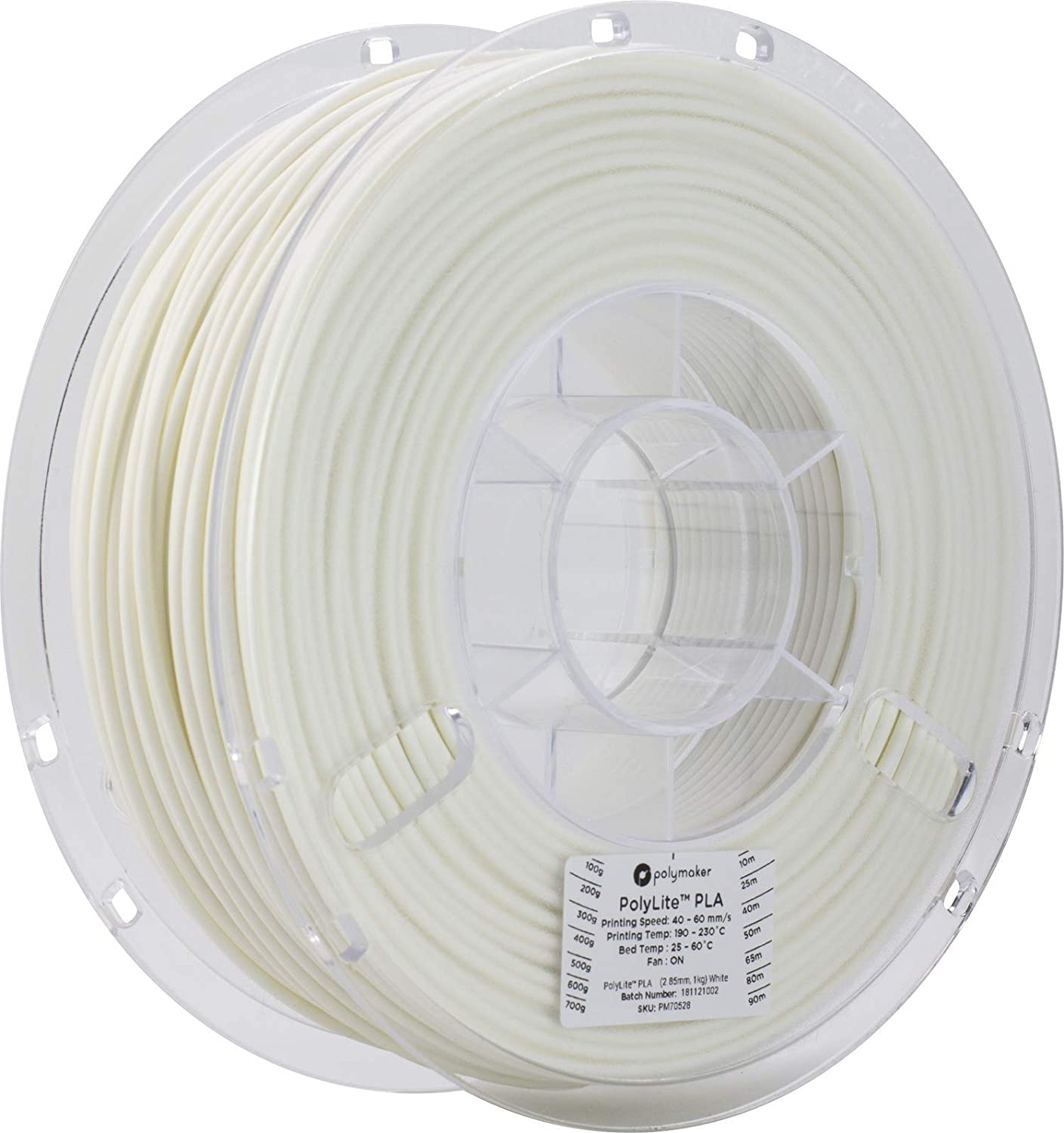 LulzBot PolyLite PLA Polymaker Filament 2.85 Reel Max 43% OFF Limited Special Price mm kg Tru 1