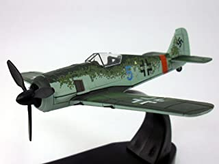 Front Line Fighters Focke Wulf Fw-190 German AF 1/72 Scale Diecast Model by Oxford