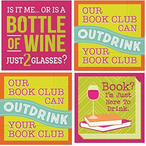 Book Club Cocktail Napkins
