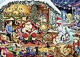 Ravensburger UK 15354Let's Visit Santa Édition limitée 2018Puzzle
