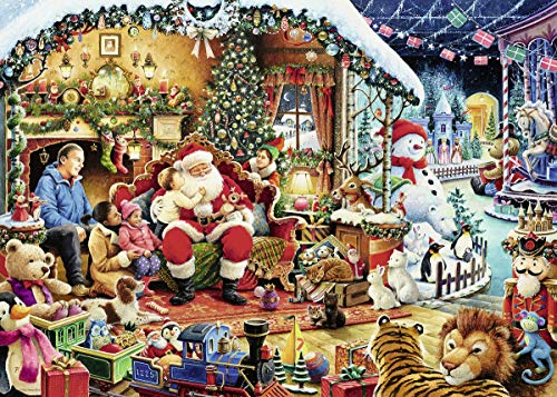 Ravensburger UK 15354 Let 's Bezoek Santa Limited Edition 2018 Puzzel Single