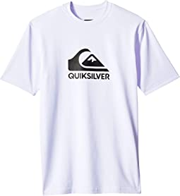 Solid Streak Short Sleeve Surf Tee (Big Kids)