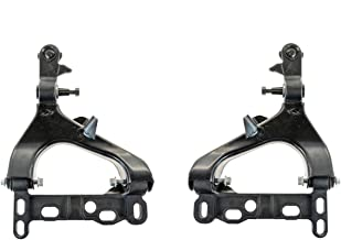 Detroit Axle Pair (2) Front Driver & Passenger Side Lower Control Arm and Ball Joint Assembly for 2004 2005 2006 2007 Buick Rainer, Chevy Trailblazer, GMC Envoy, Isuzu Ascender