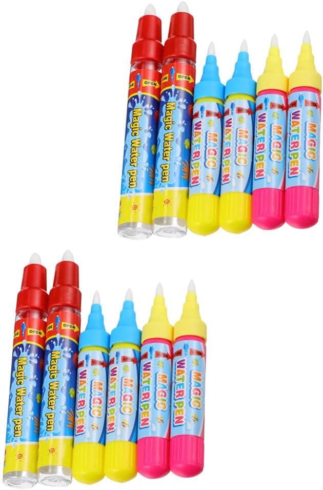 HEALLILY Super intense SALE 12Pcs Water Pens Replacement Houston Mall Qua Drawing Pen