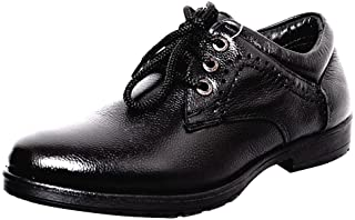 Zoom Shoes for Mens Genuine Leather Shoes and Formal Shoes D-3561-Black Shoes