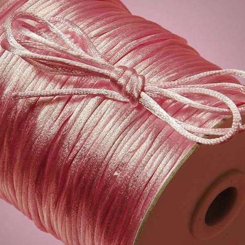 Beading Cord Supplies Satin Shamballa Rattail Sale price Ranking TOP8 Trim