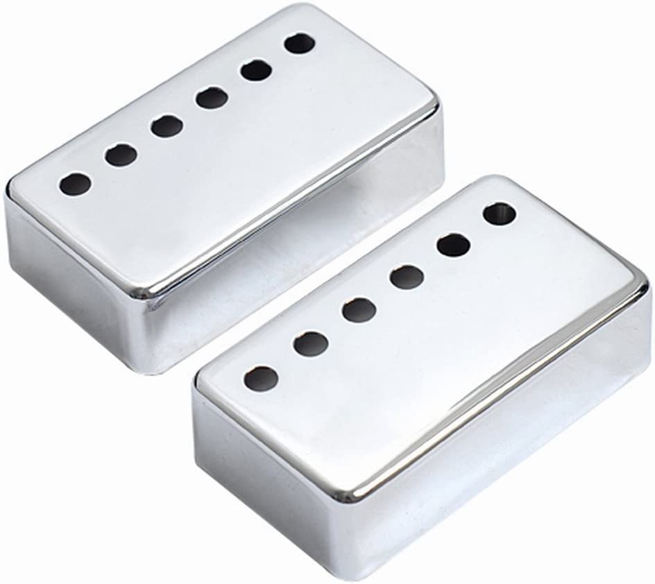 Guitar Pickup Covers Chrome 2pcs Gibson for Tulsa Japan's largest assortment Mall Electric