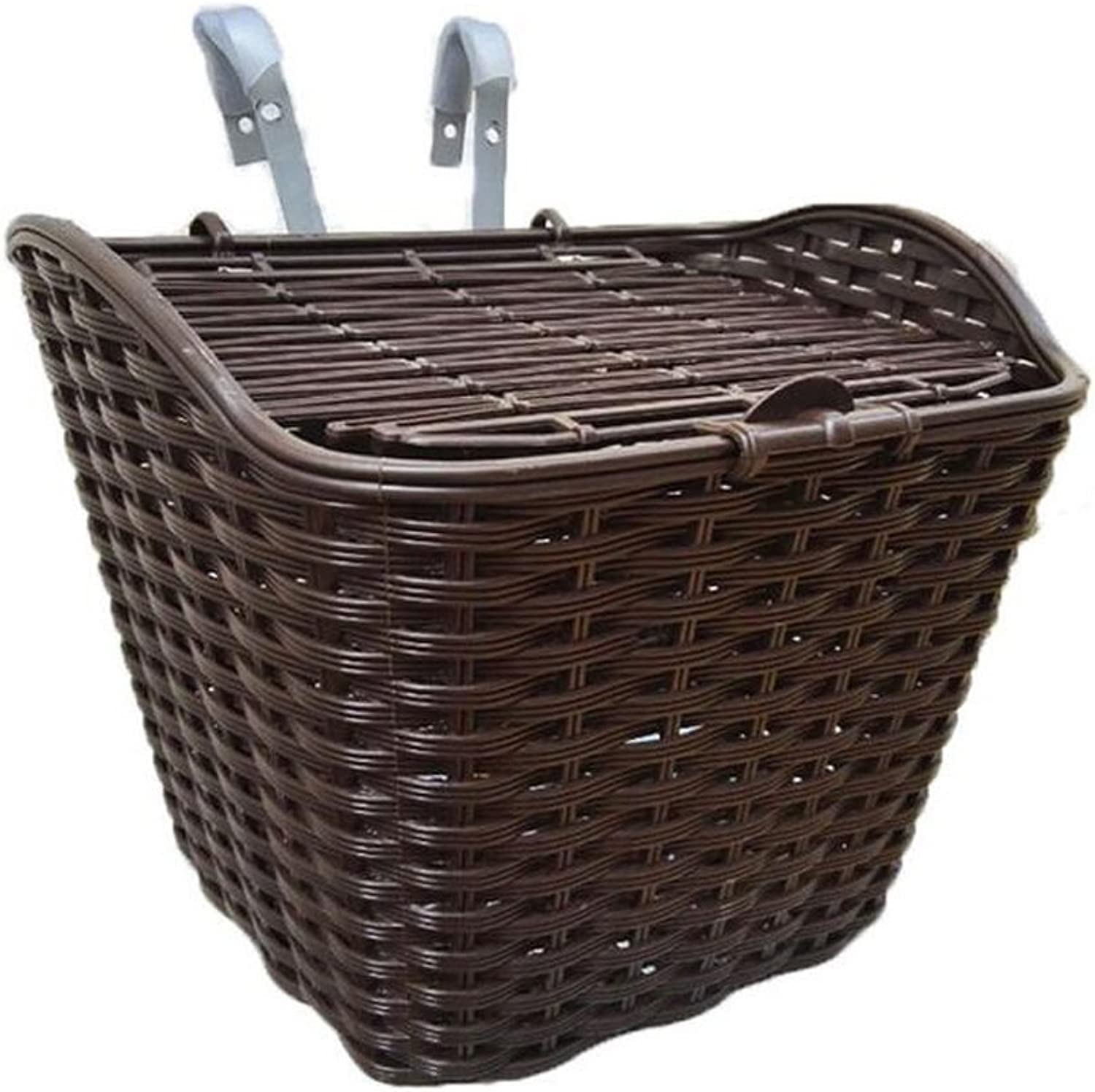 Ideal for Shopping Storage Bicycle Basket Fit for Most Bikes