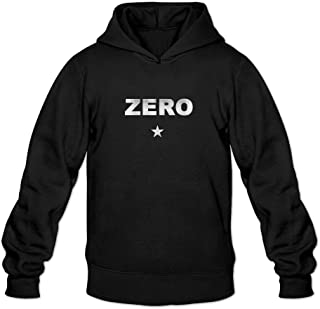 Men's The Smashing Pumpkins Zero Logo My Reflection Hoodied Sweatshirt Long Sleeve