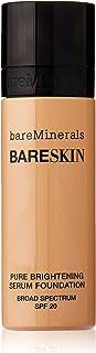 bareMinerals BareSkin Pure Brightening Serum Foundation SPF 20 - Bare Natural 07 for Women - 1 oz Foundation, 30 ml