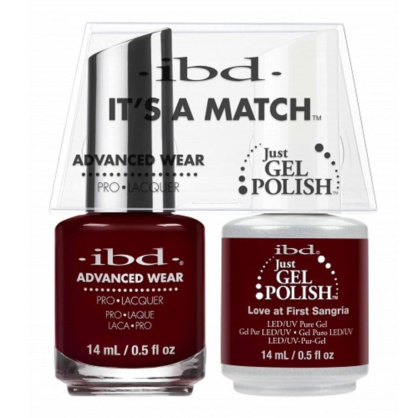 ありふれた快適伝統ibd - It's A Match -Duo Pack- Love Lola Collection - Love at First Sangria - 14 mL / 0.5 oz Each