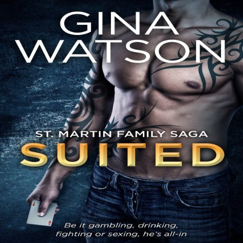 Suited audiobook cover art