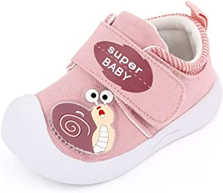 Sponsored Ad - MiYuebb Baby Shoes Boy Girl Infant Toddler Sneakers Non-Slip First Walking Shoes