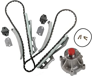 MOCA Timing Chain Kit Water Pump Kit for 1997-2002 Ford Expedition, 1997-2002 Lincoln Town Car, 1997-2001 Mercury Grand Marquis 4.6L V8 SOHC