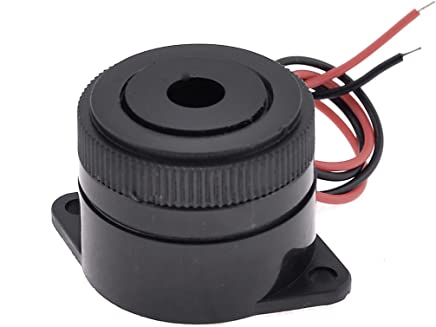 Aexit 10 Pieces Security /& Surveillance Industrial Electronic Continuous Sound Buzzer DC Horns /& Sirens 5V 12mmx9mm