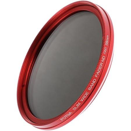 Fotga 58mm ND2 to ND400 Slim Fader Variable Adjustable Camera Lens ND Filter Neutral Density Optial Glass