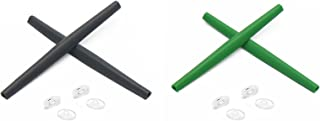 Replacement Earsocks & Nosepieces Rubber Kits for Oakley Whisker Grey&Green