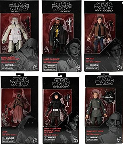 toma Diamond Select Select Select Star Wars The negro Series 6-Inch Action Figure Wave 16 Set  ventas en linea