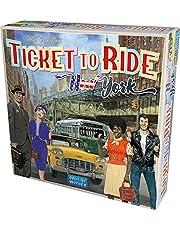 Asmodee Ticket To Ride New York bordspel compleet Italiaanse editie, kleur lichtblauw, 720560
