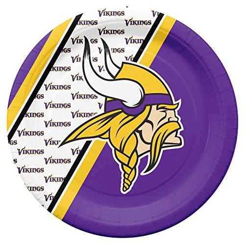 Duck House Minnesota Vikings NFL Pappteller, Teller Set (20 STK.)