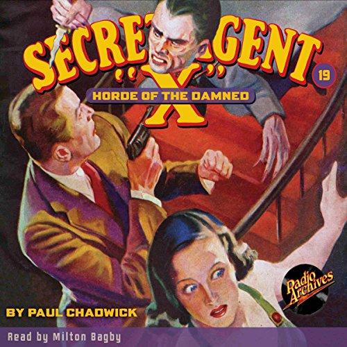 Secret Agent X #19: Horde of the Damned copertina